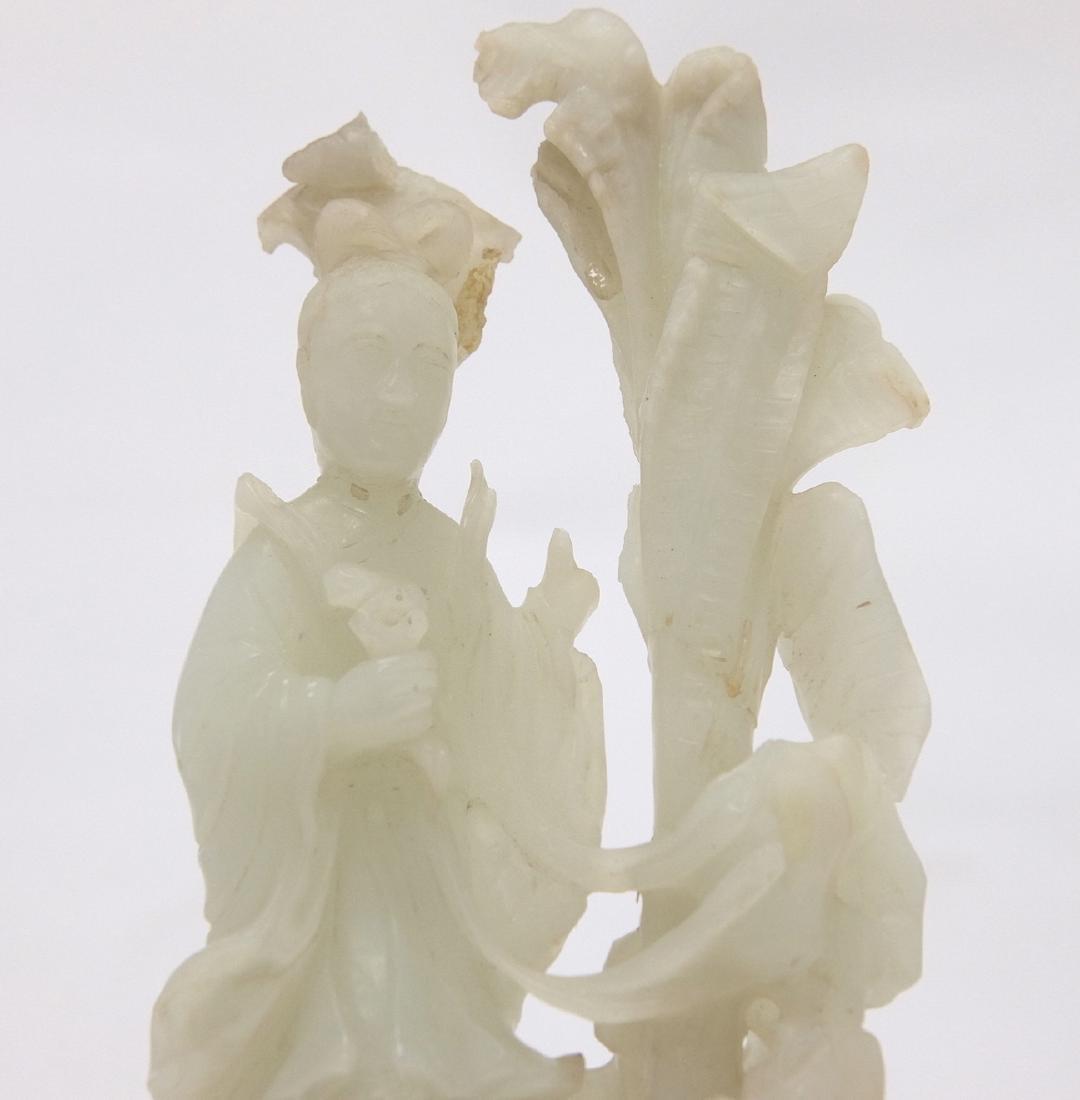 Chinese White Jade Fairy - 3