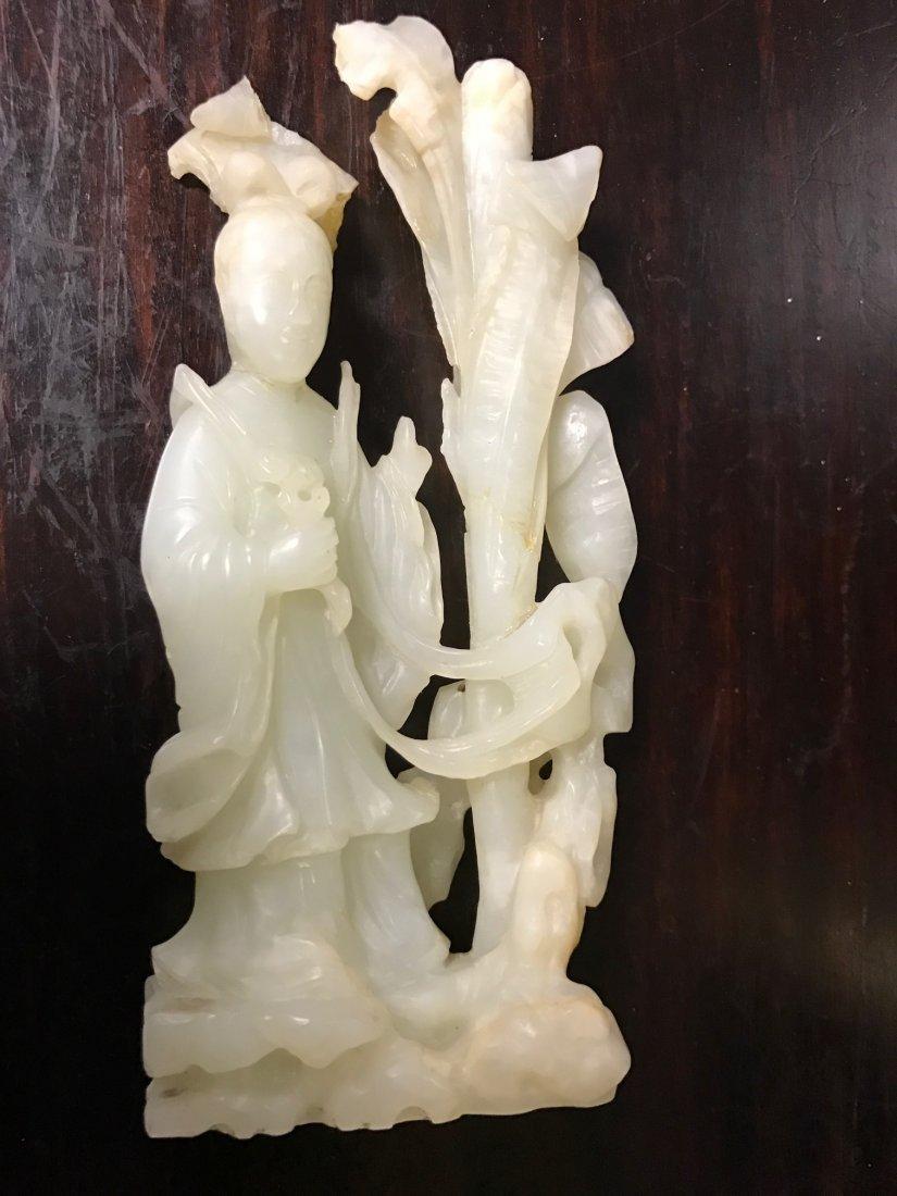 Chinese White Jade Fairy - 6