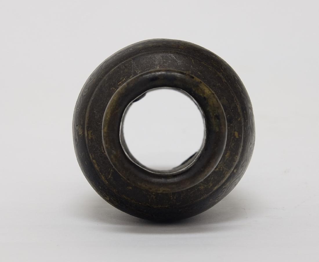 Chinese Bronze Water Buffalo Incenser - 10