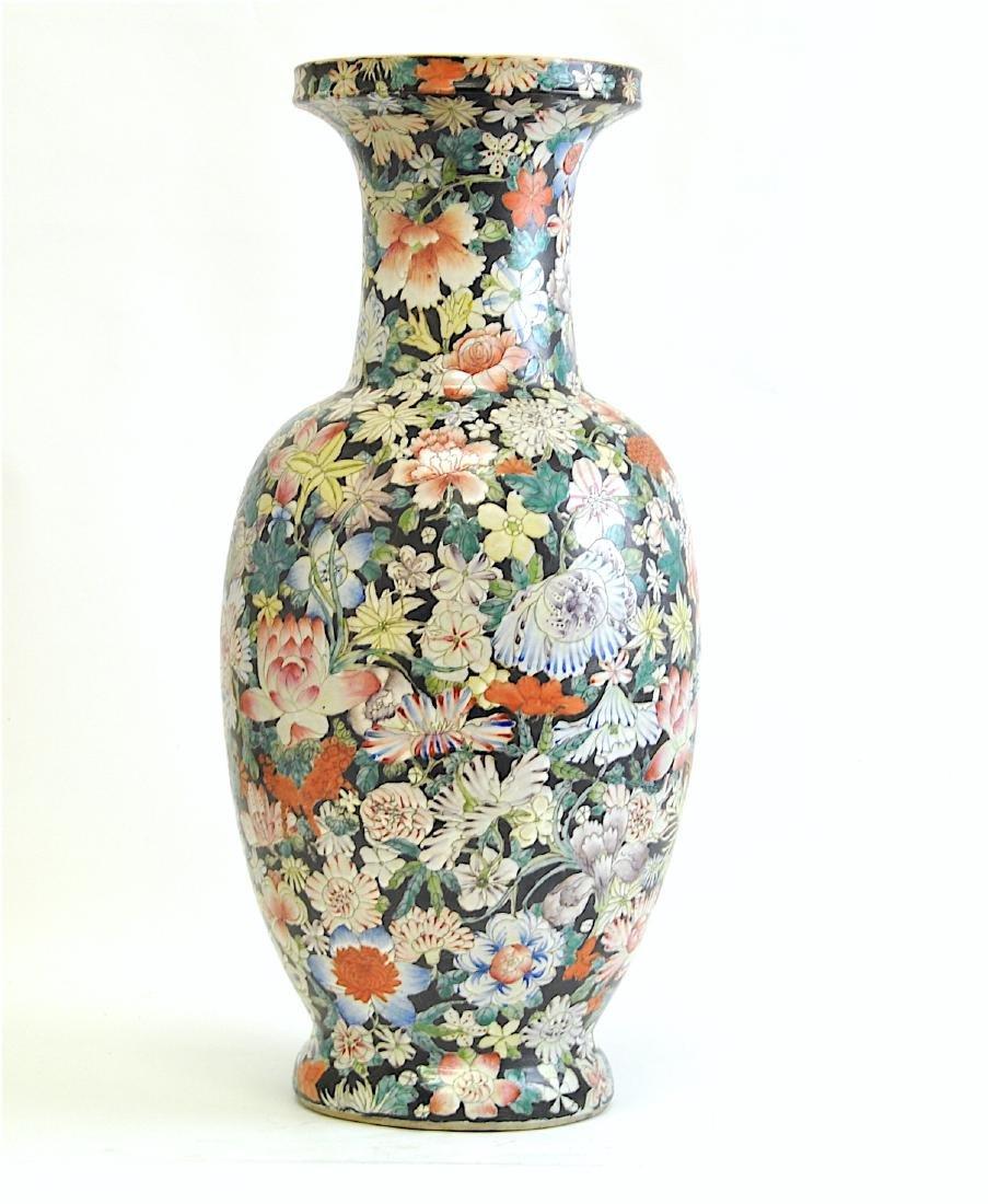 Chinese Large Famille Rose Vase - 2