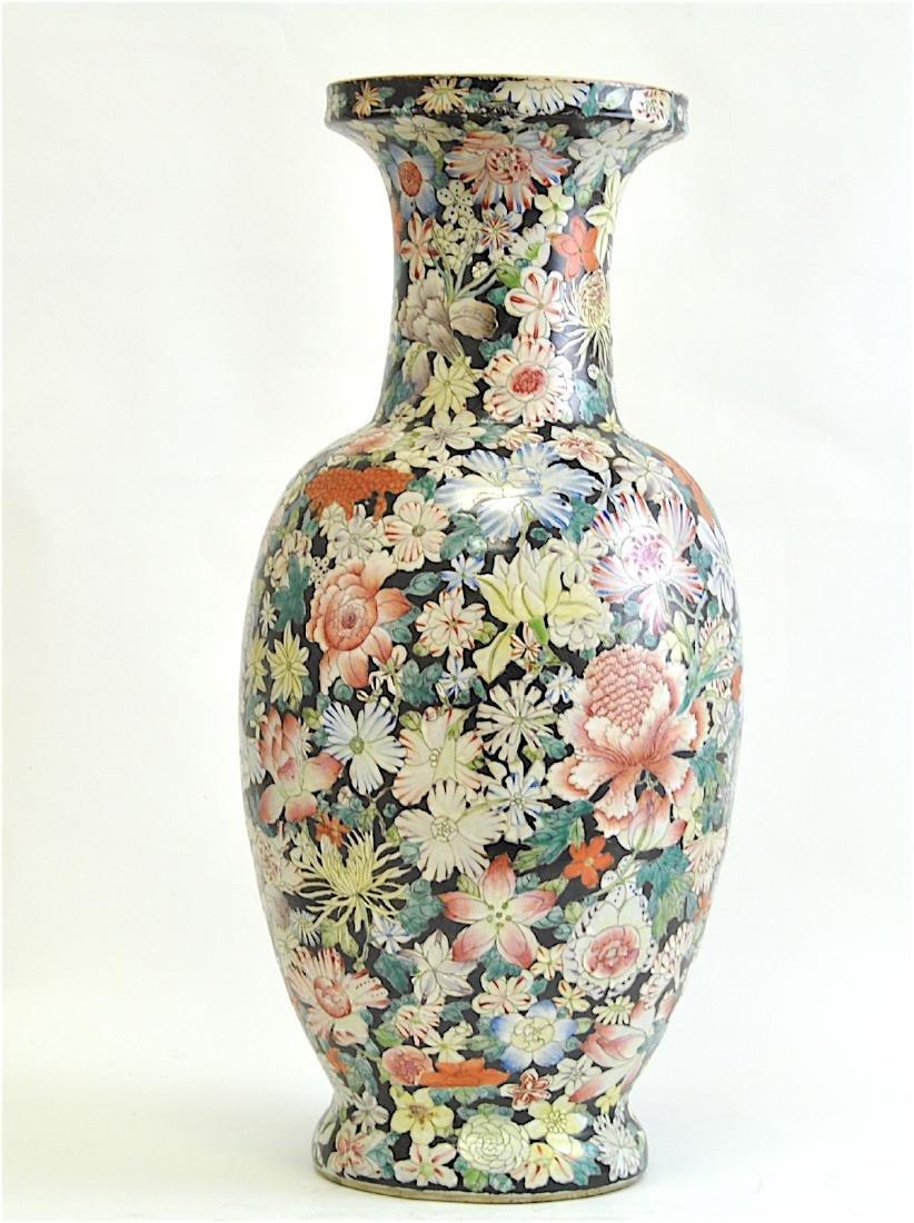 Chinese Large Famille Rose Vase - 3
