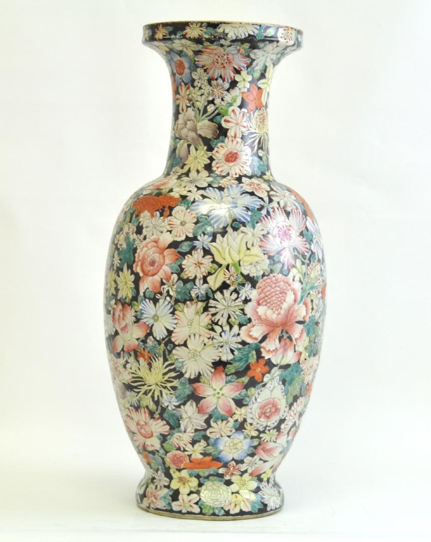 Chinese Large Famille Rose Vase - 5