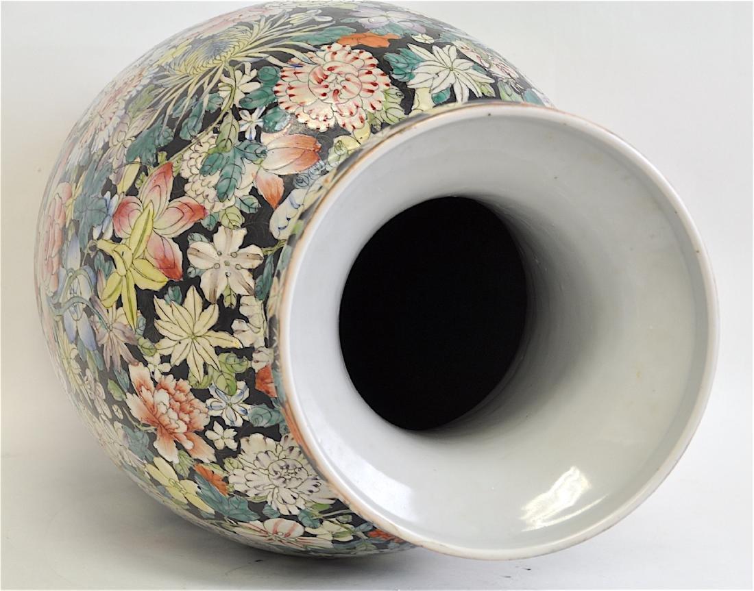 Chinese Large Famille Rose Vase - 8