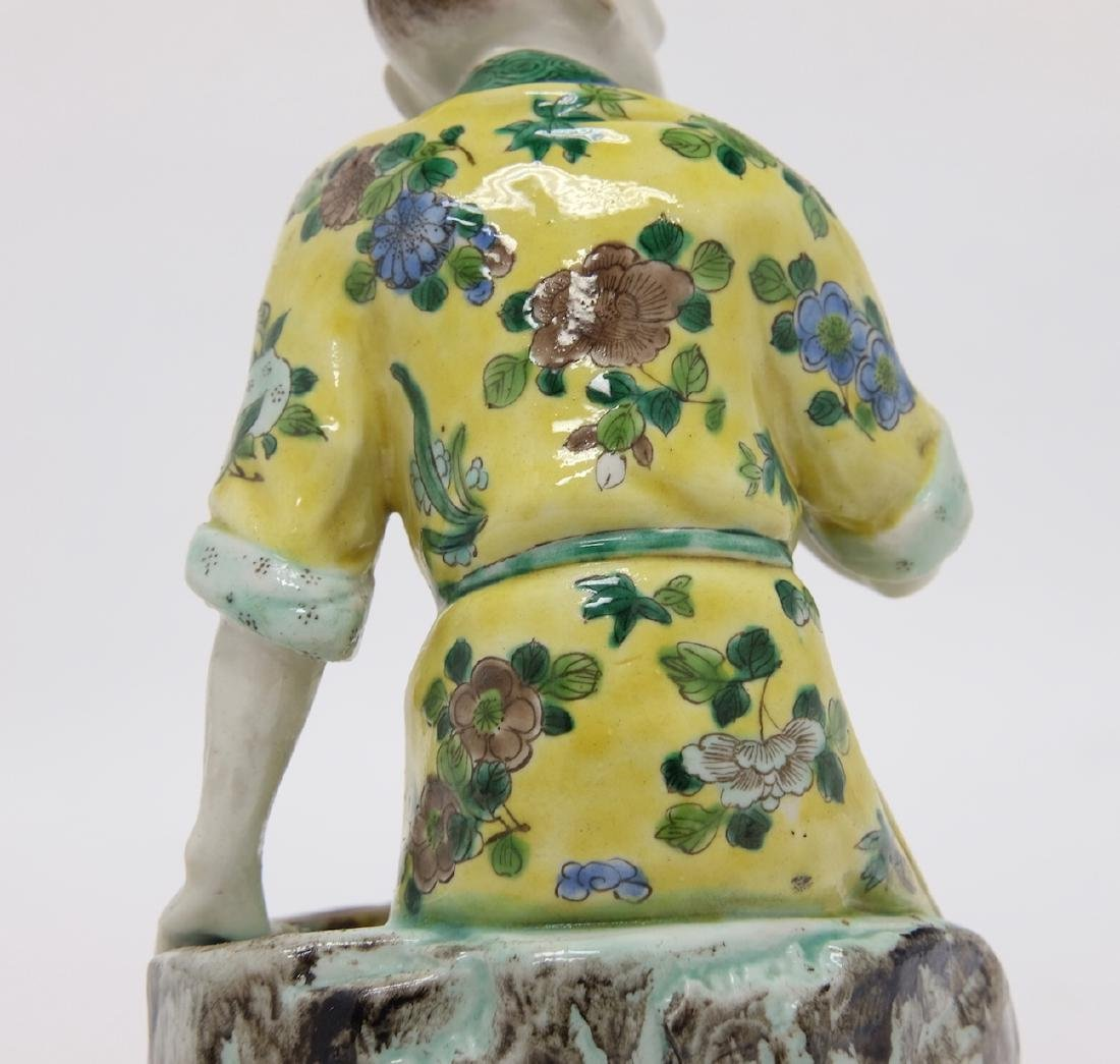 Chinese Polychrome Fishman - 6