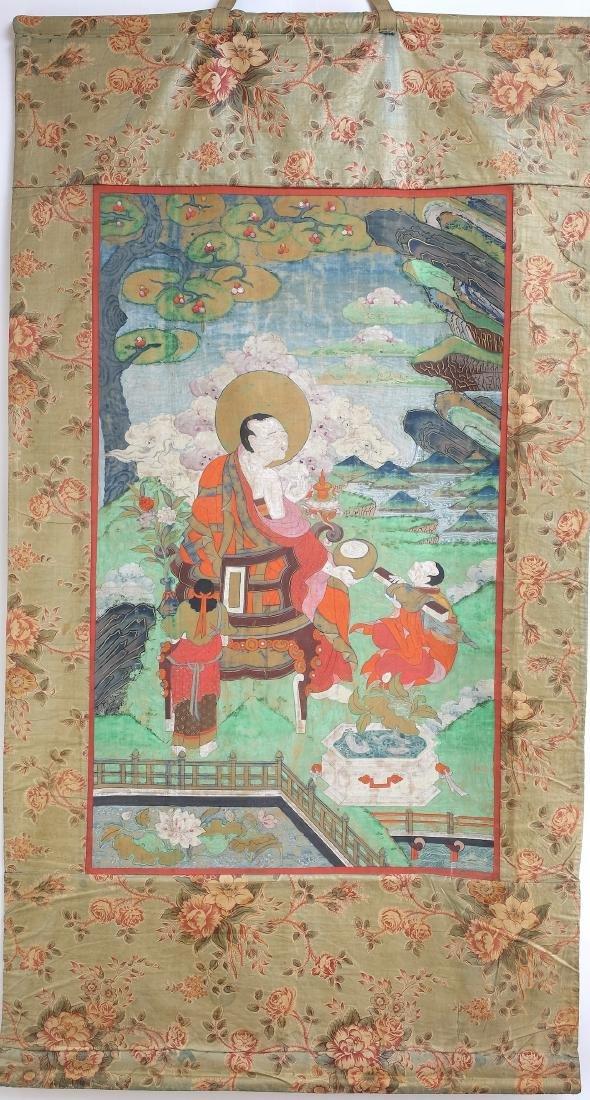 Chinese Tibetan Tang Ka 4