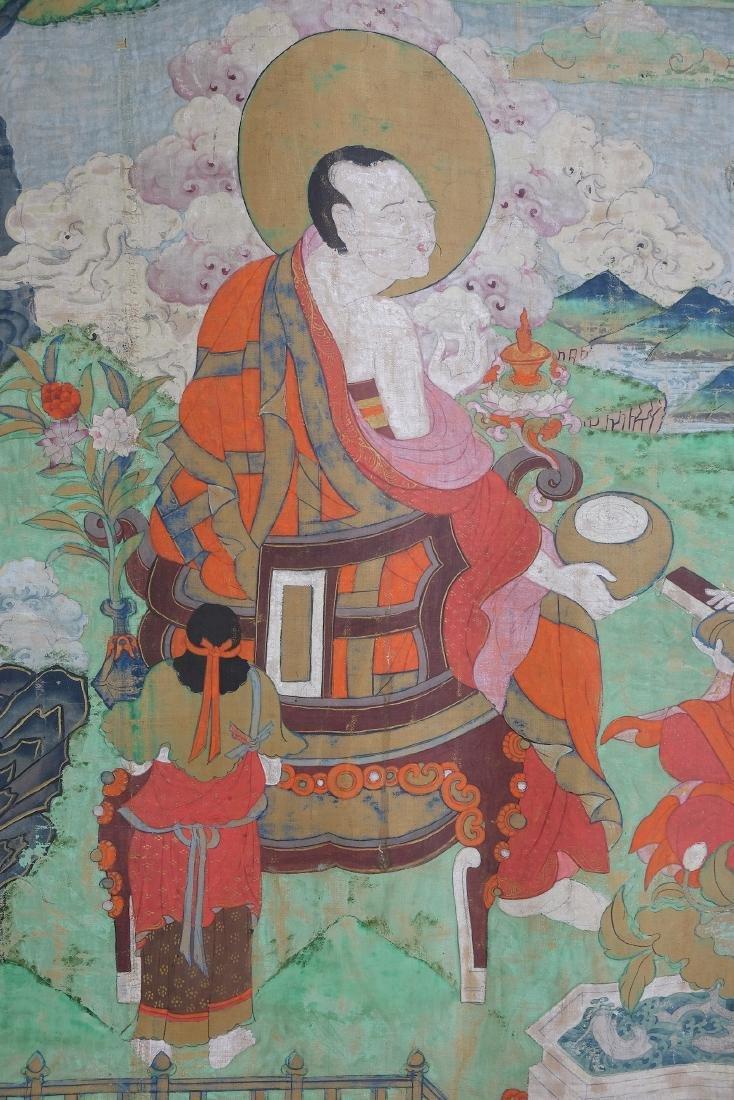 Chinese Tibetan Tang Ka 4 - 3
