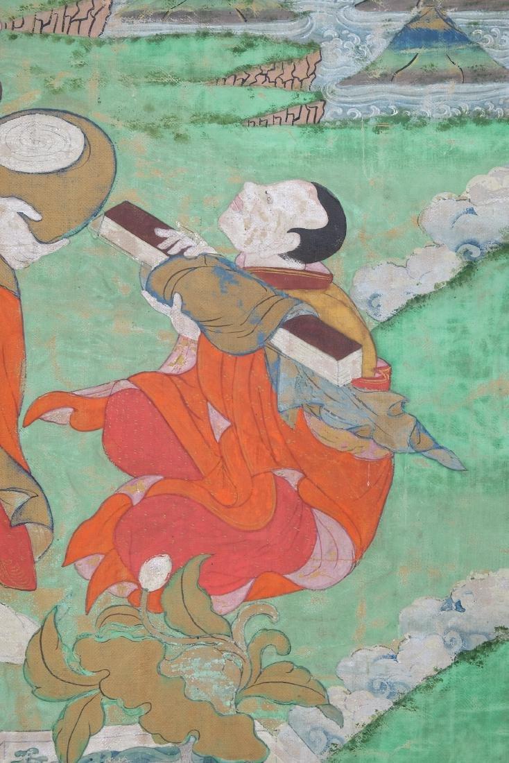 Chinese Tibetan Tang Ka 4 - 4