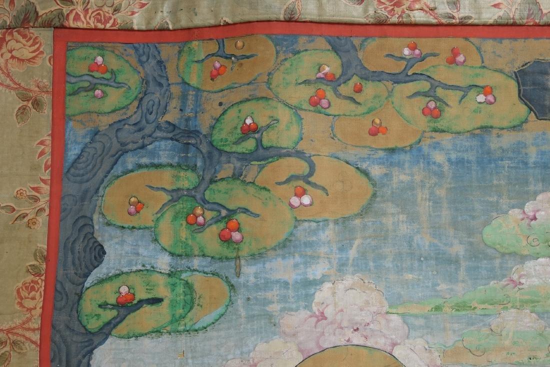 Chinese Tibetan Tang Ka 4 - 5