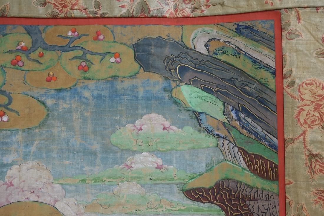 Chinese Tibetan Tang Ka 4 - 6