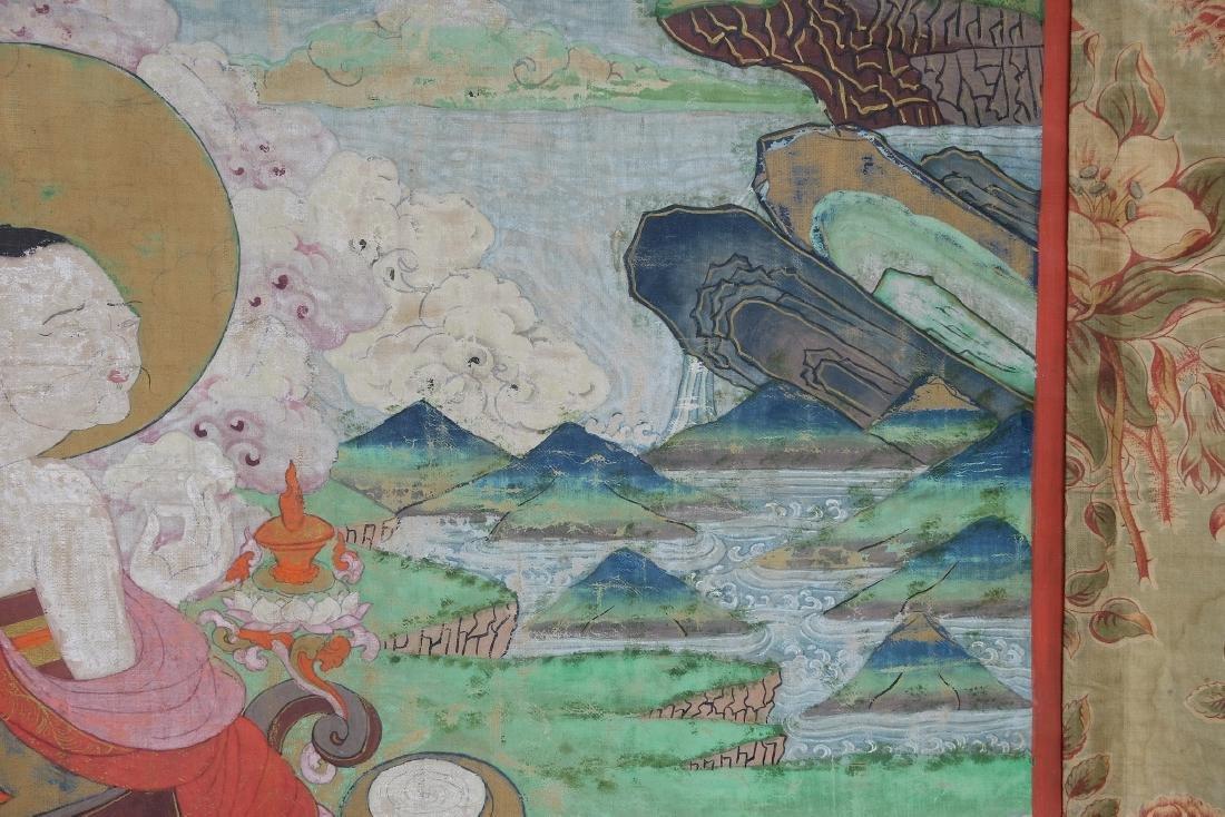 Chinese Tibetan Tang Ka 4 - 7