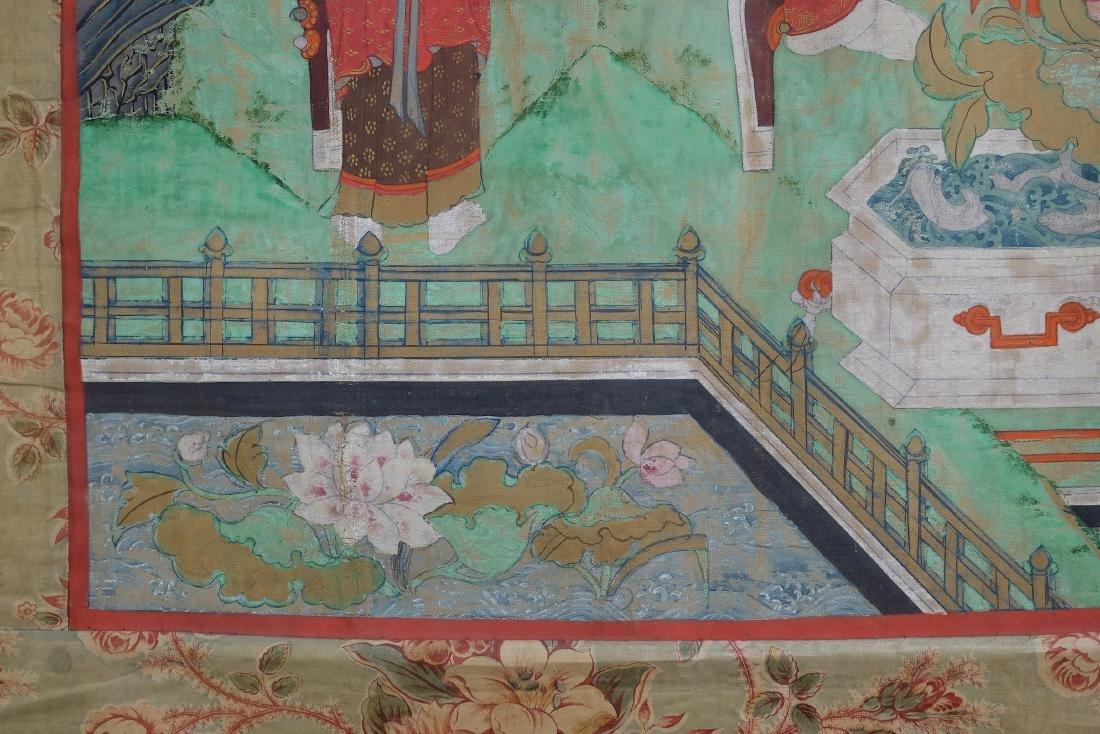 Chinese Tibetan Tang Ka 4 - 8