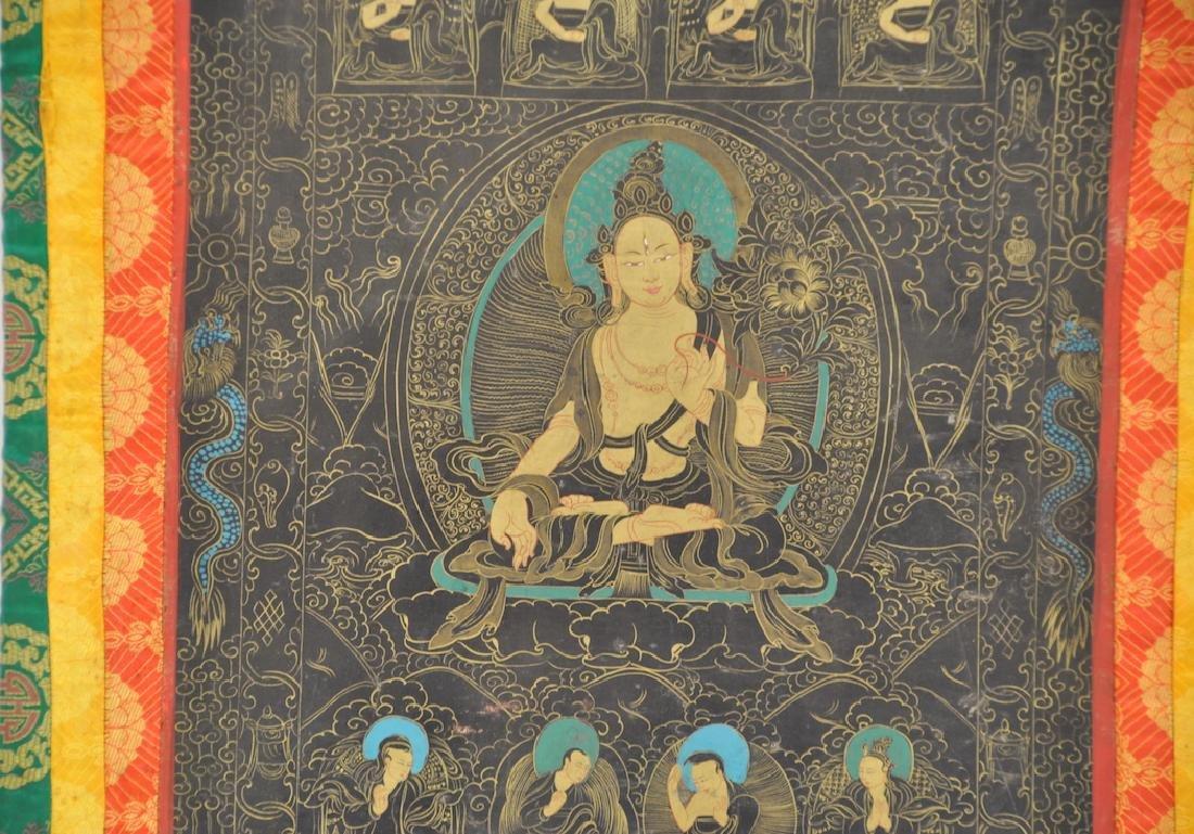Chinese Tibetan Tang Ka 4 - 2