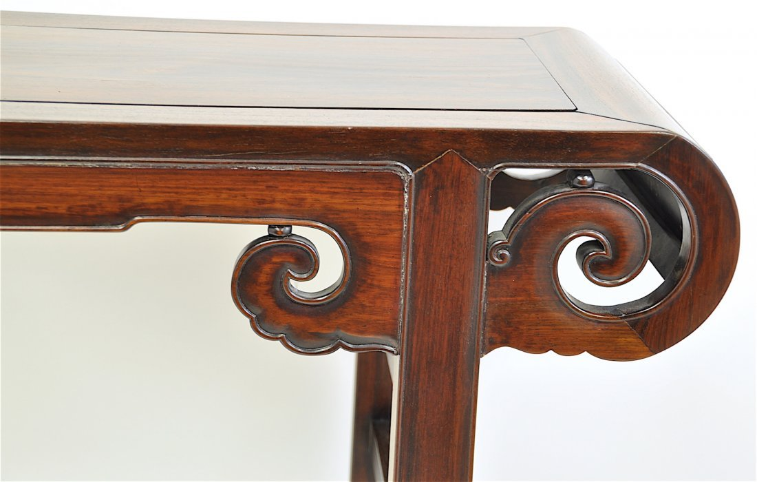 Chinese Extra Long Rosewood Table - 10