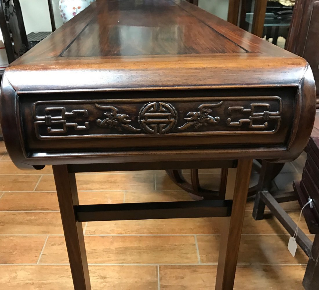 Chinese Extra Long Rosewood Table - 3