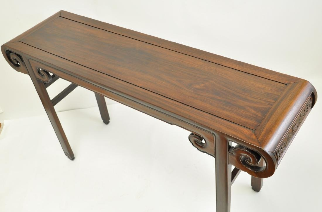 Chinese Extra Long Rosewood Table - 6