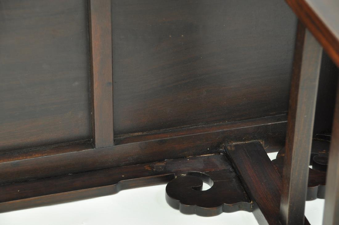 Chinese Extra Long Rosewood Table - 8
