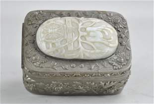 Chinese Pewter Box