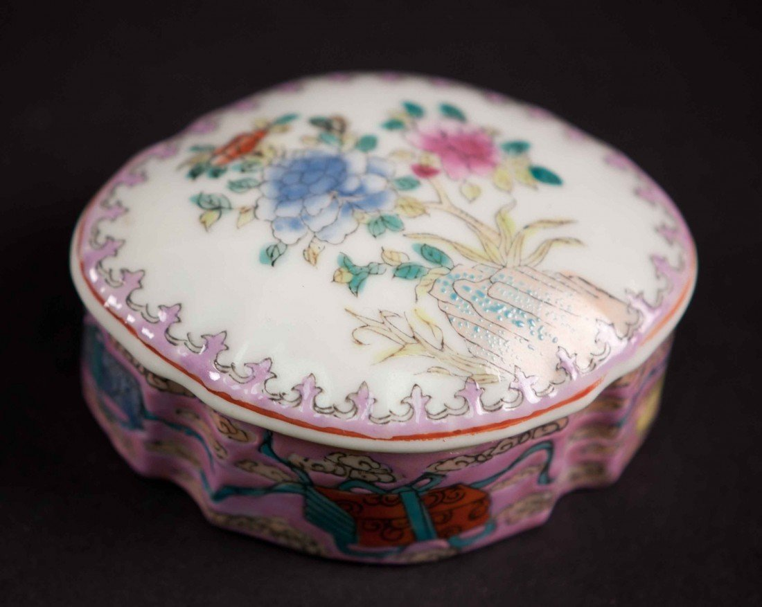 7: A Chinese Famille Rose Box