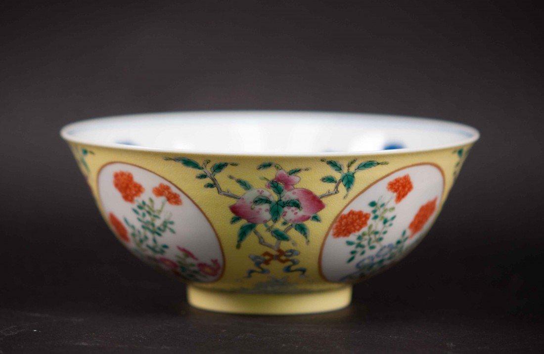 11: A Famille Rose Blue-white Bowl