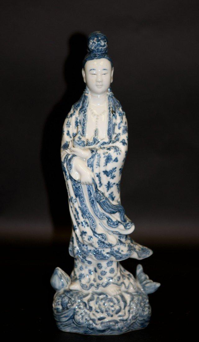 2: Chinese Blue-white Kwan-yin