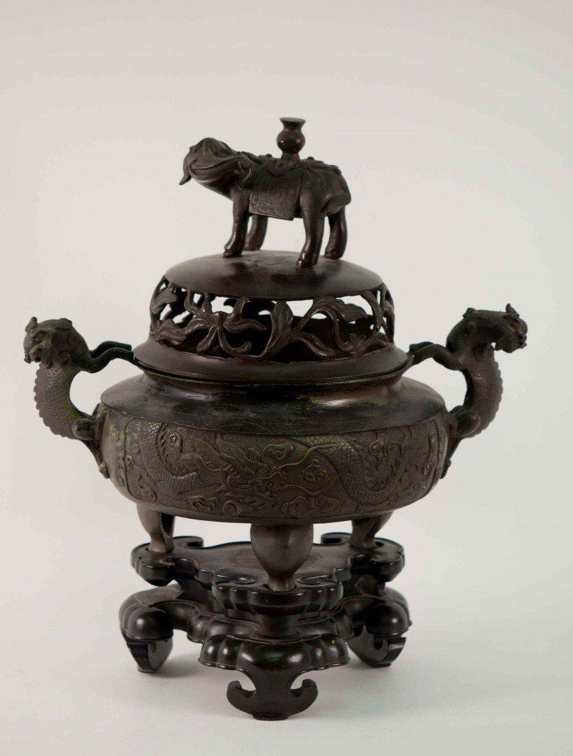 5: Chinese Bronze Incenser