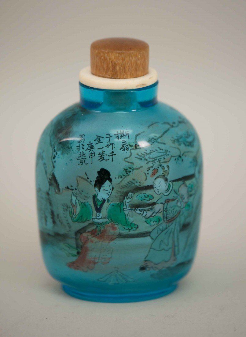 3: Chinese Chrystal Snuff Bottle