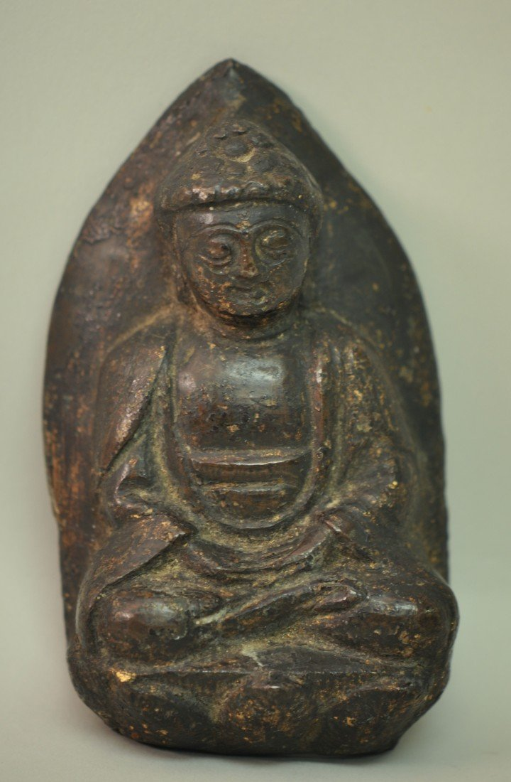 5: Chinese Early Ching Bronze Statue