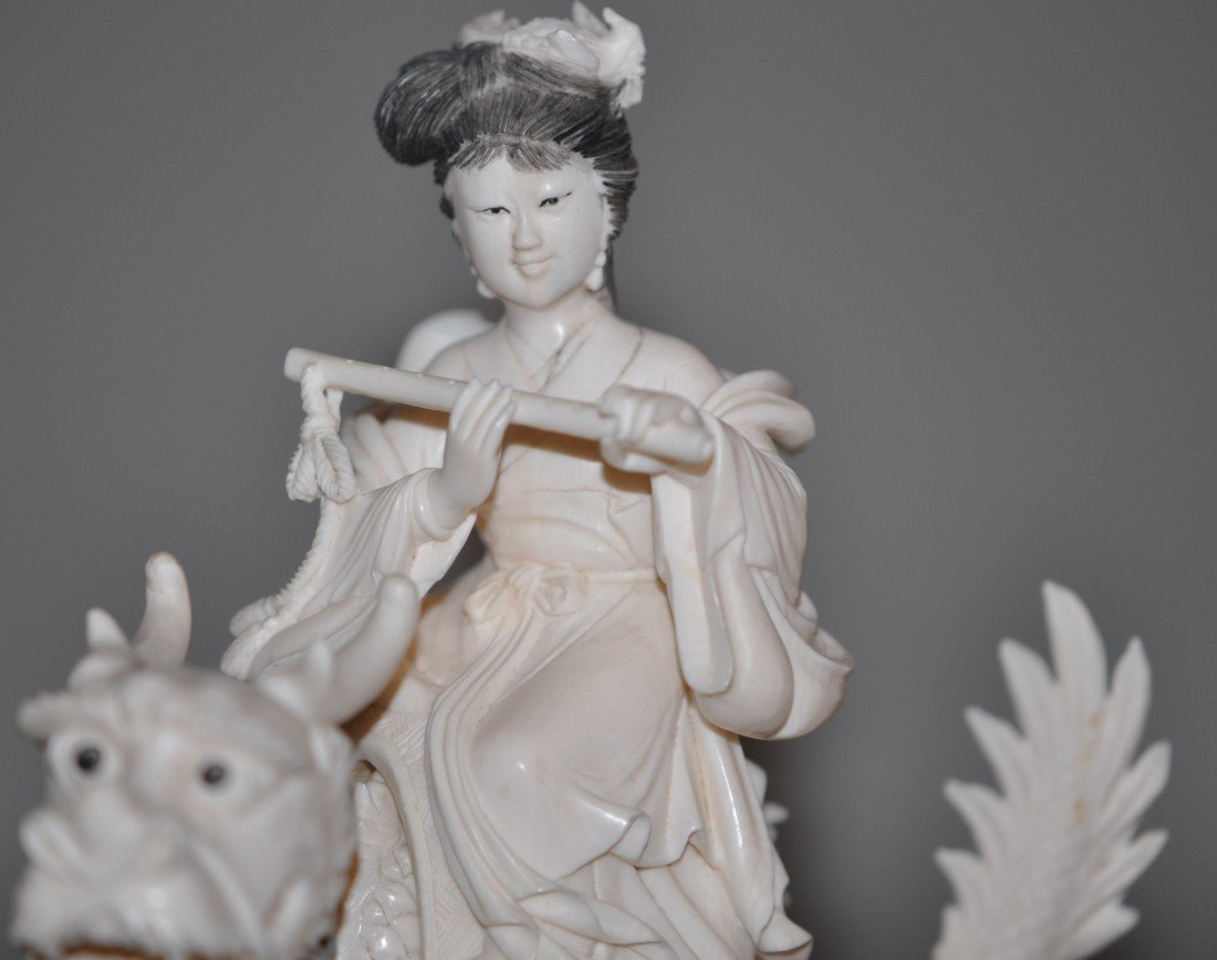 13: Chinese Set of 4 Ivory Fairies - 3