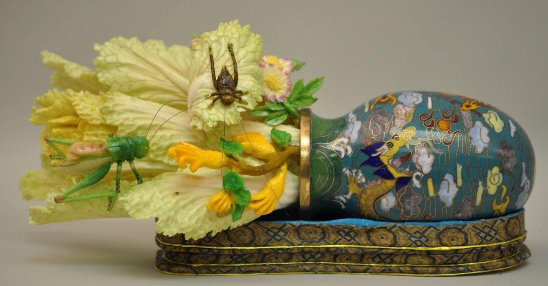 30: Chinese Cloisonnee Vase