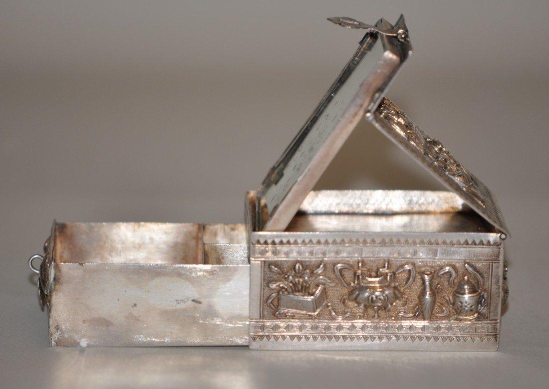 43: Chinese Silver Jewelry Box