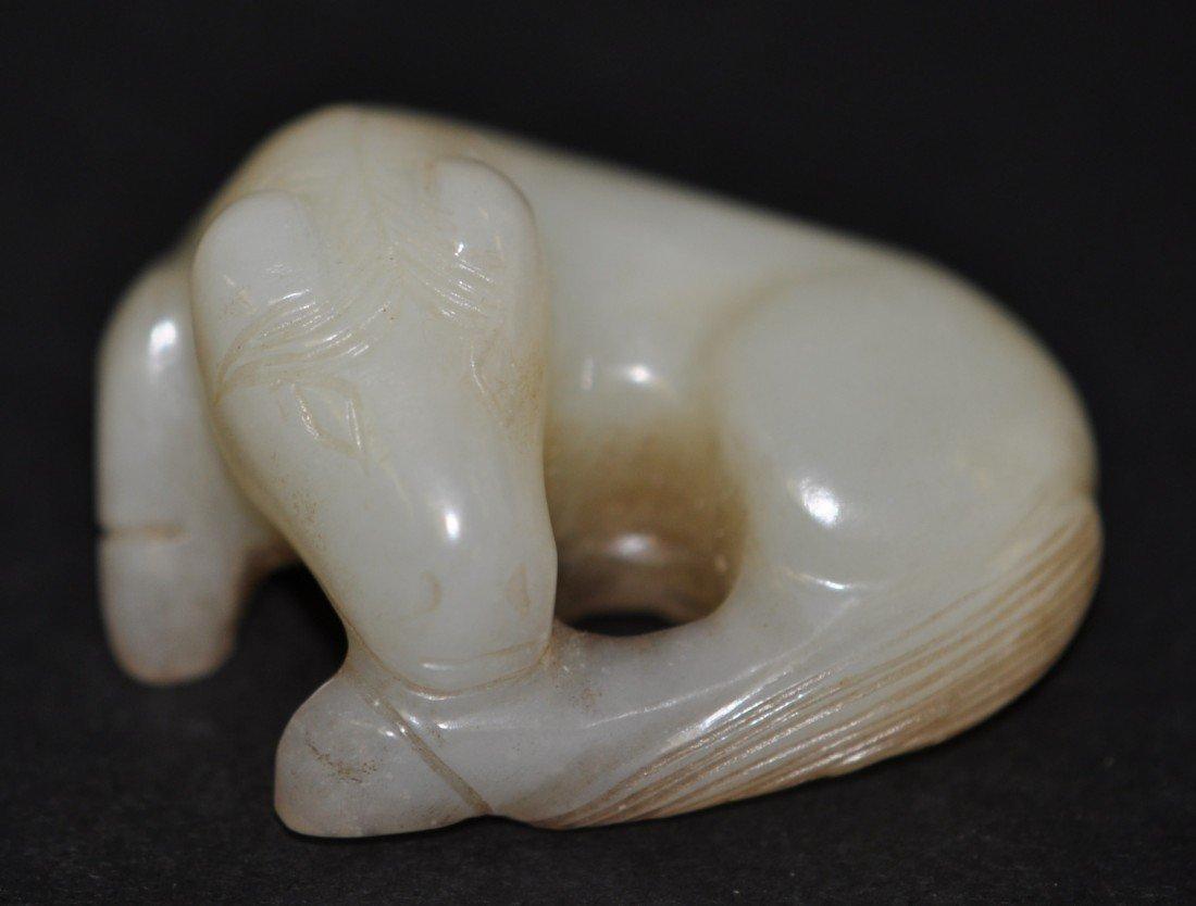 48: Chinese White Jade Horse