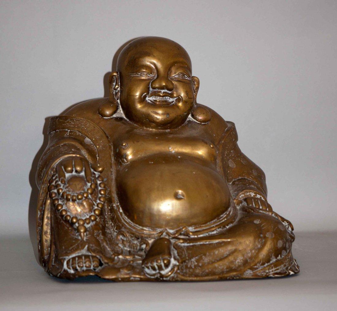 22: Chinese Extra-Large Bronze Happy Buddha