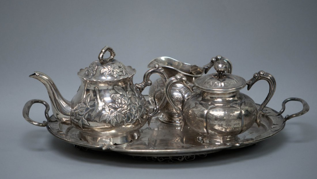 78: Chinese Silver Set
