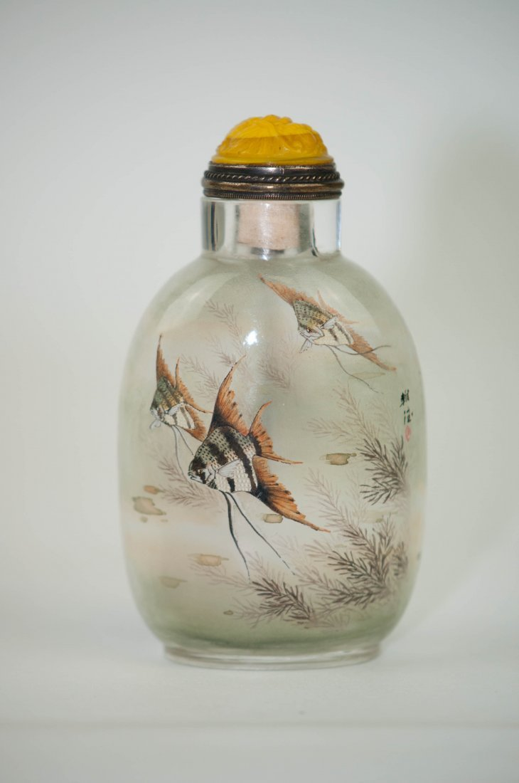 10: Chinese Chrystal Snuff Bottle