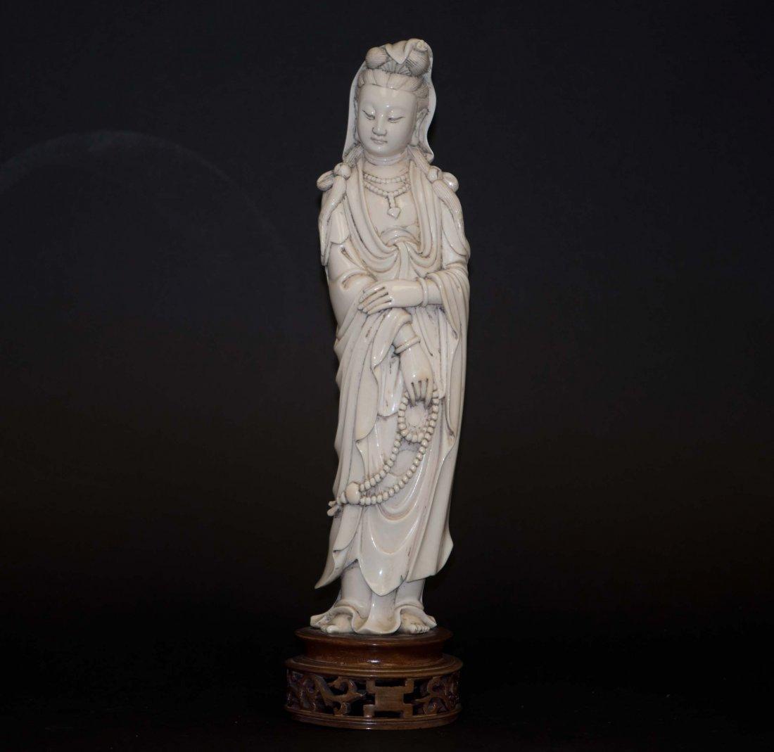 7: Chinese Ivory Kwan-yin