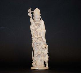 24: Chinese Large Ivory Fishman-child Group