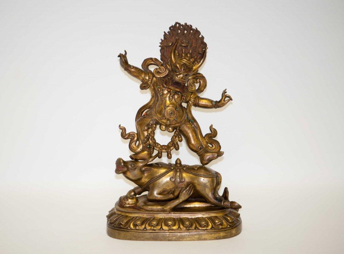 159: Chinese Bronze Buddha