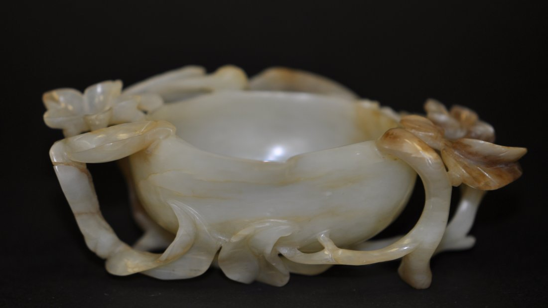 183: Chinese Ming White Russet Jade Washer