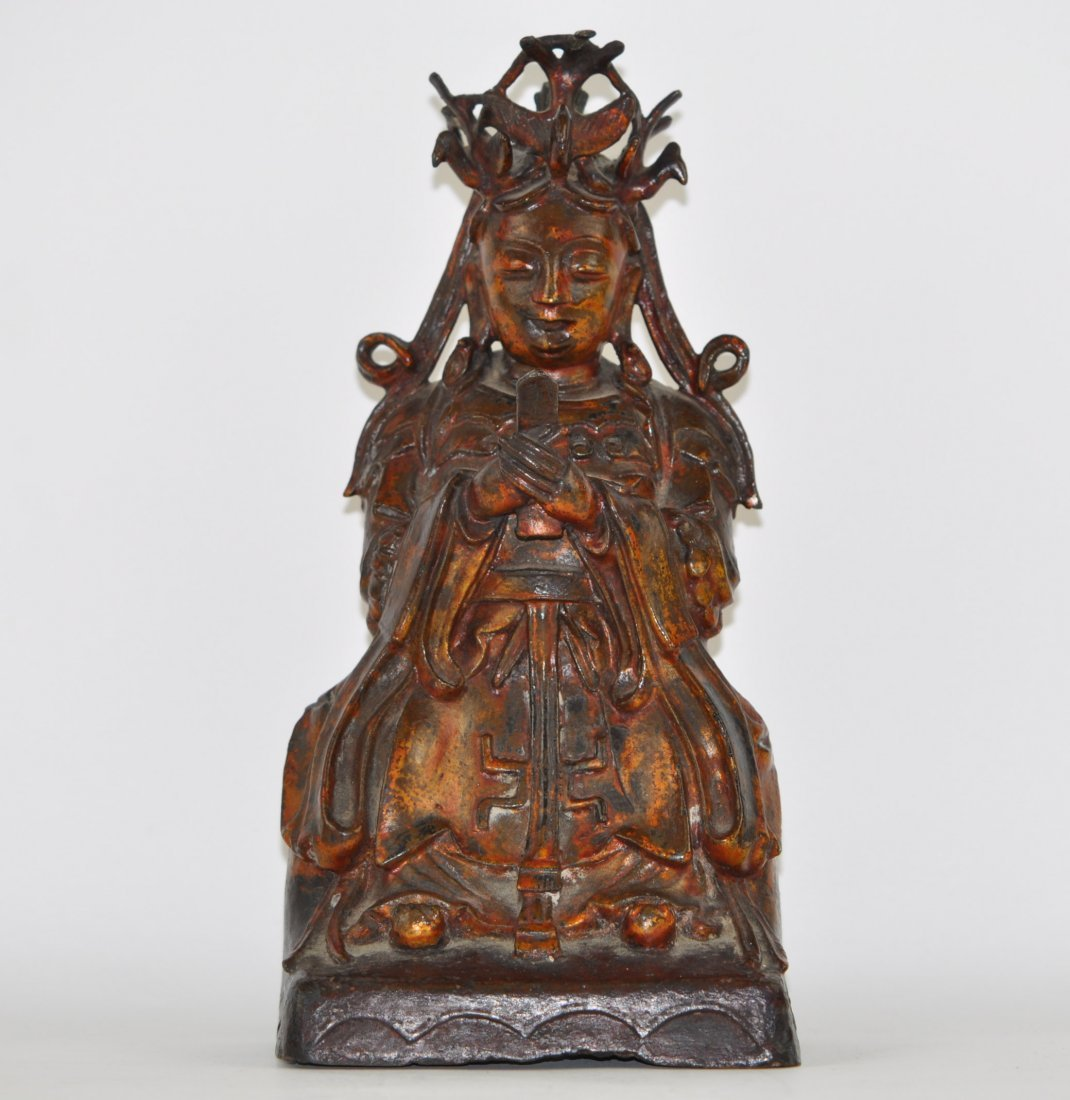 Chinese Ming Bronze Immortal