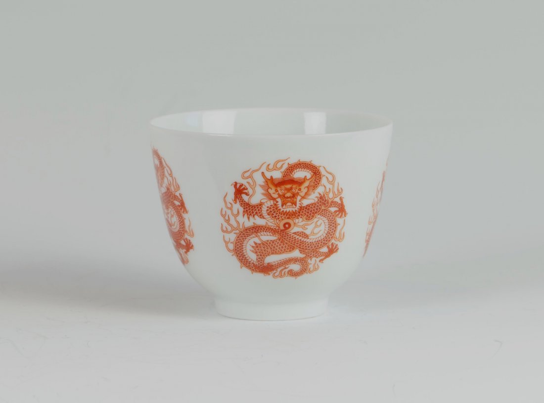 Chinese Red-dragon Cup