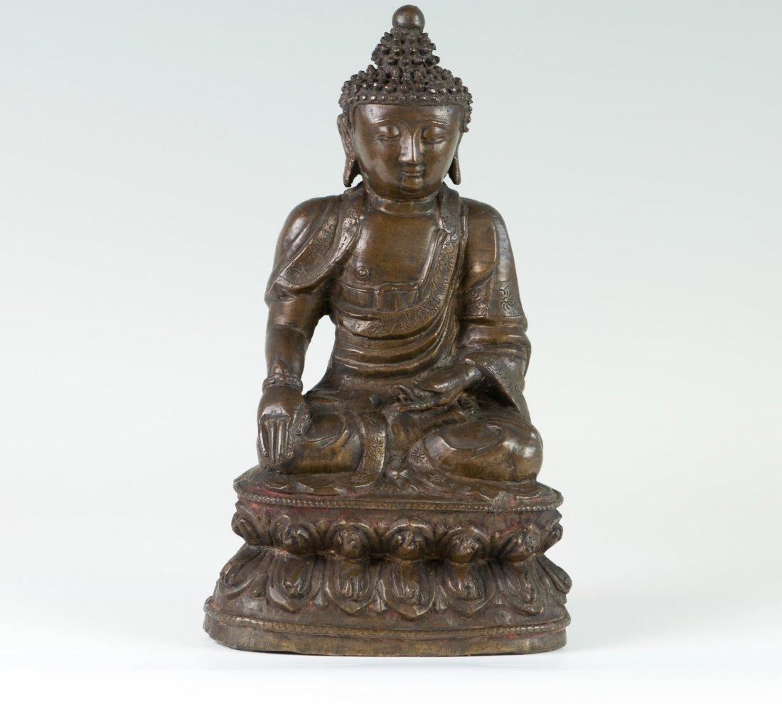 Chinese Large Seated Buddha