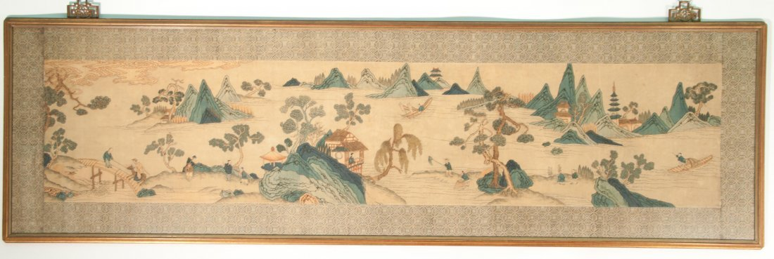 Chinese Large Kexi Panel