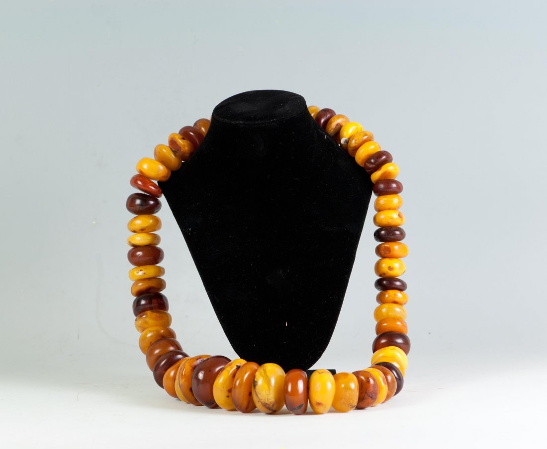 Super Large Amber Necklace