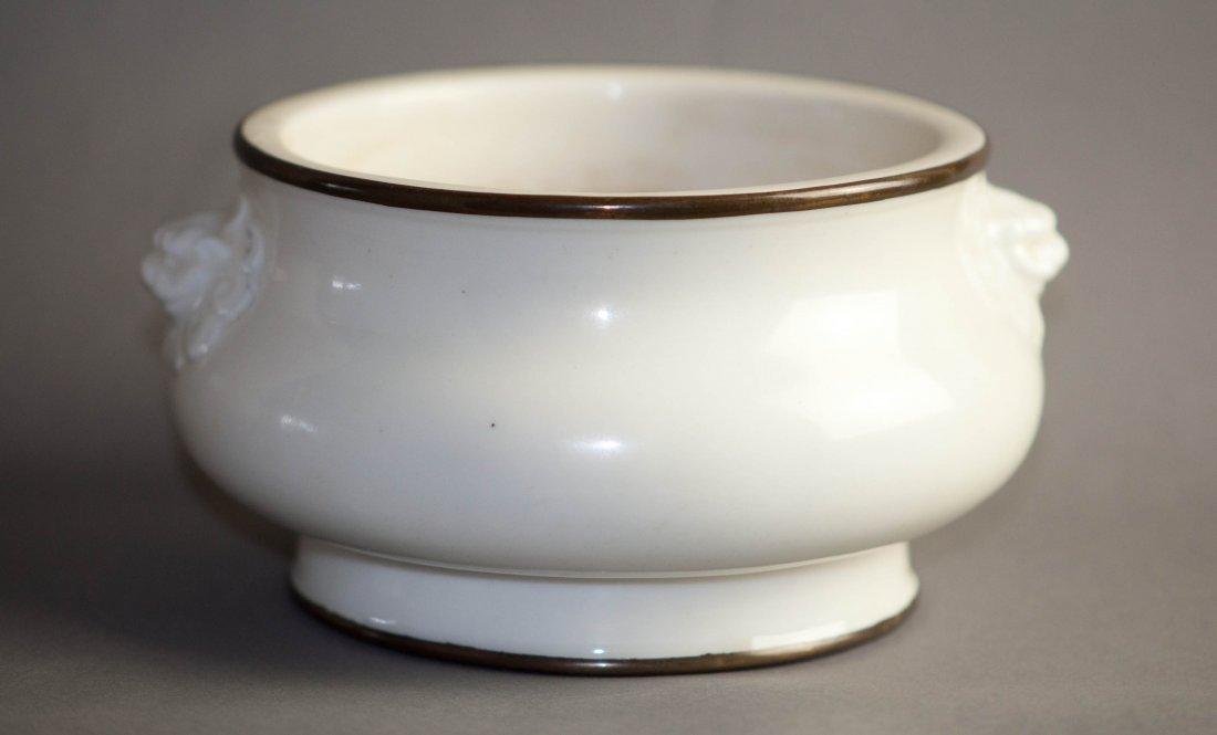 Chinese White Glaze Insencer