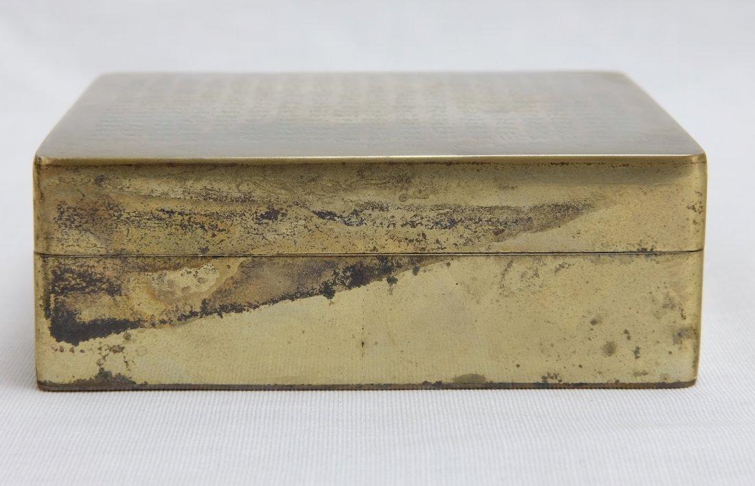 Chinese Bronze Seal Box - 10