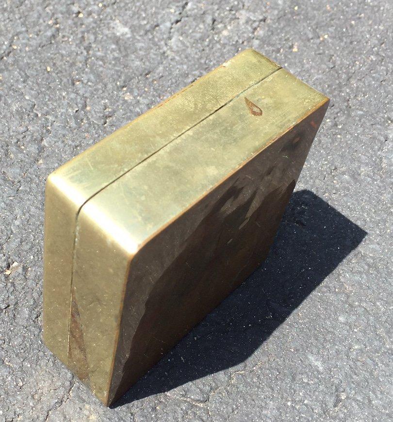 Chinese Bronze Seal Box - 6