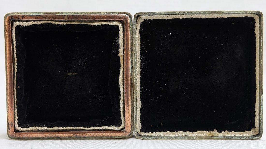 Chinese Bronze Seal Box - 7