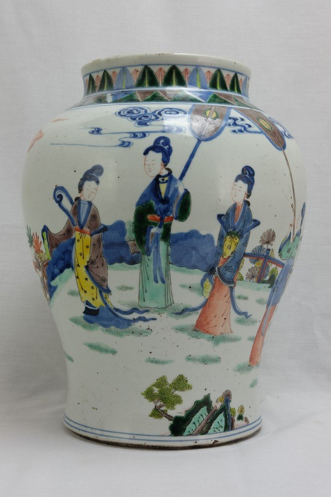 Chinese Five Colored Pot