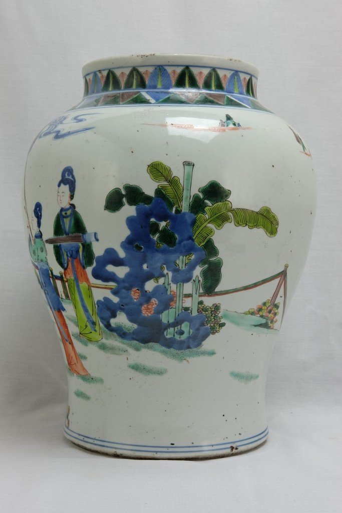 Chinese Five Colored Pot - 3