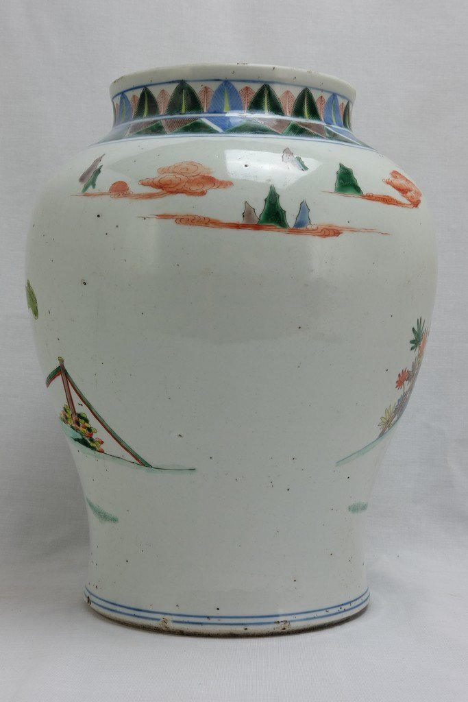 Chinese Five Colored Pot - 4